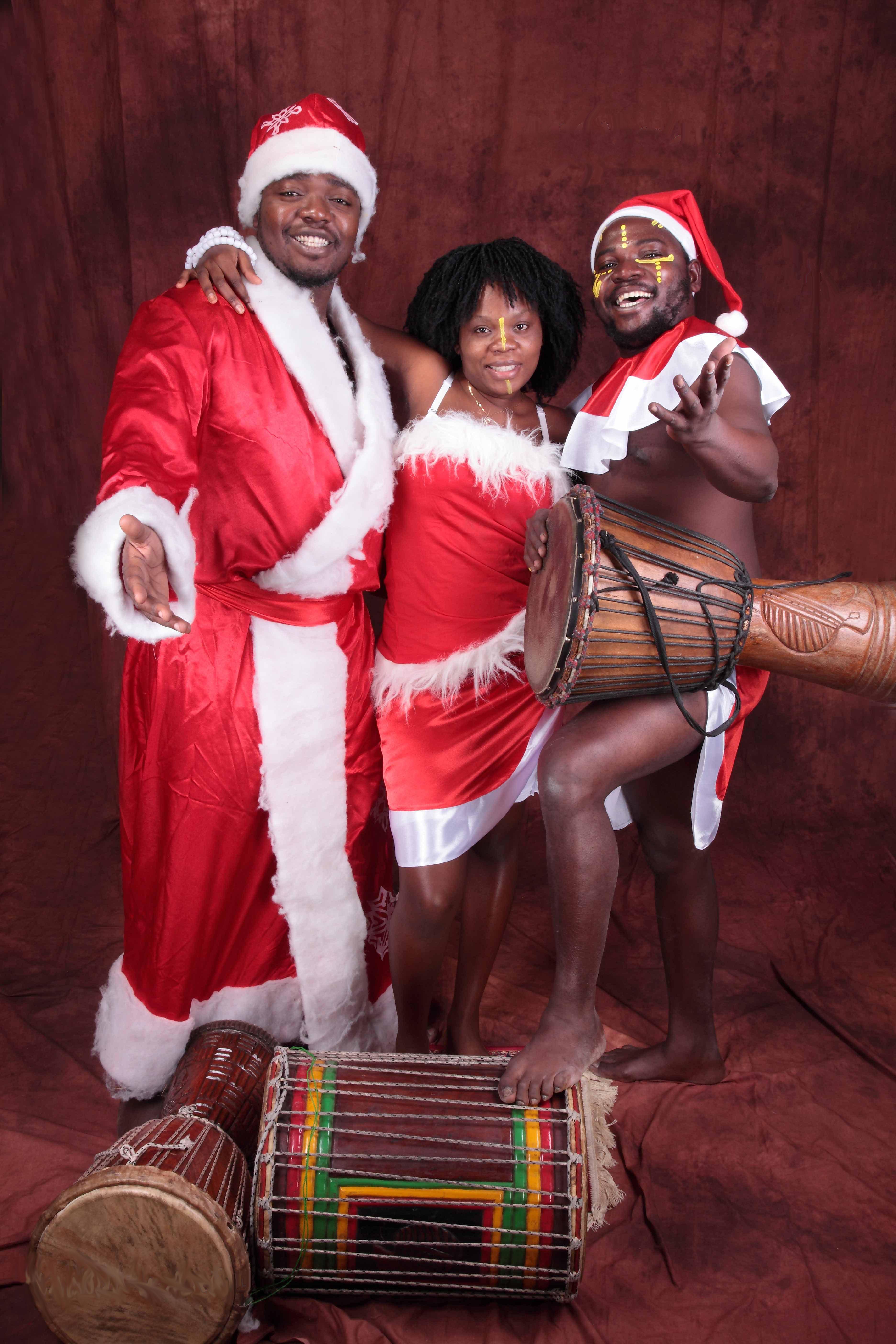 Встретить новый год в африке
