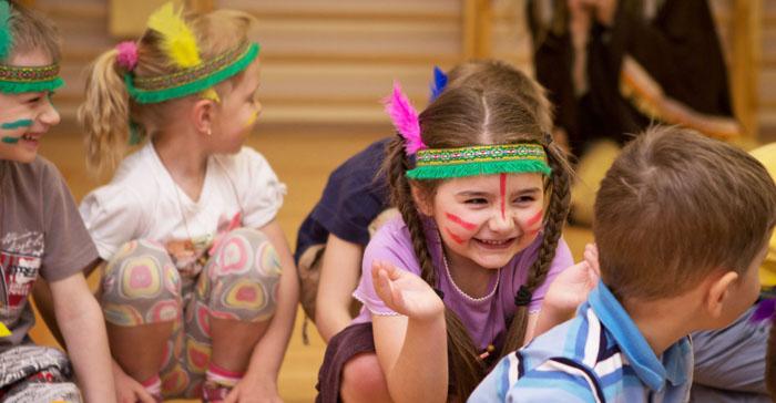 Детский квест Племена